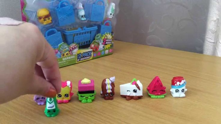 Shopkins Season 1 - 12 pack opening and review