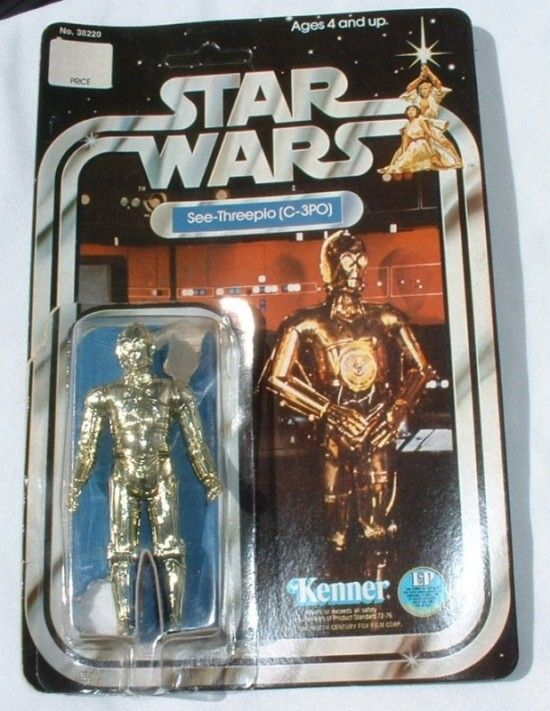 Star Wars Action Figures - C3PO  One of the first 2 Star Wars figures I owned