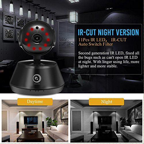 DIGOO-M1Z 1080P Home Security Camera, Wifi IP Camera, 355°Horizontal & 90° Vertical Rotation, Wireless Surveillance System, Baby Monitor With Night Vision Motion Detection Two-way Audio, ONVIF Support