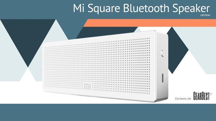 Xiaomi Mi Square Bluetooth Speaker [Unboxing + Tutorial + Review] [Español]