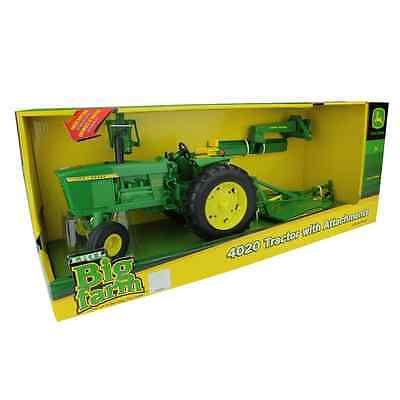Contemporary Manufacture 156623: Ertl Big Farm John Deere 4020 Tractor With Attachments, 1:16 Scale -> BUY IT NOW ONLY: $45.94 on eBay!