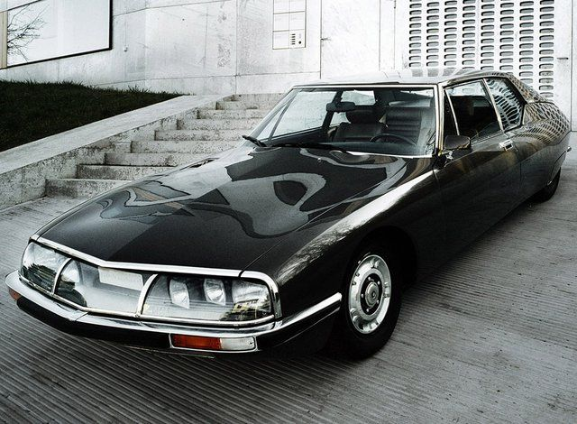 1972 Citroen Maserati SM. @designerwallace