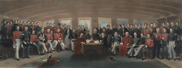 The Signing of the Treaty of Nanking. This Day in History: Oct 18, 1860: The Second Opium War finally ends