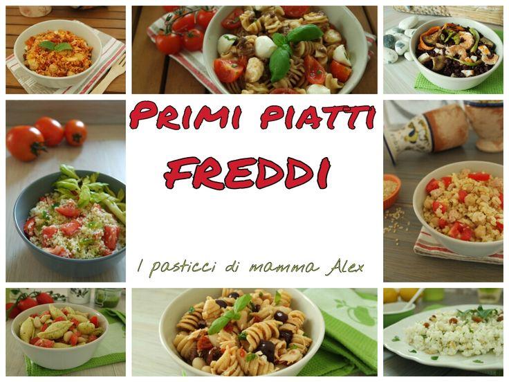 PRIMI PIATTI FREDDI | Raccolta