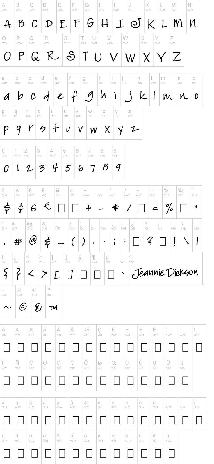 JeansFont Font Typography fonts, Dafont