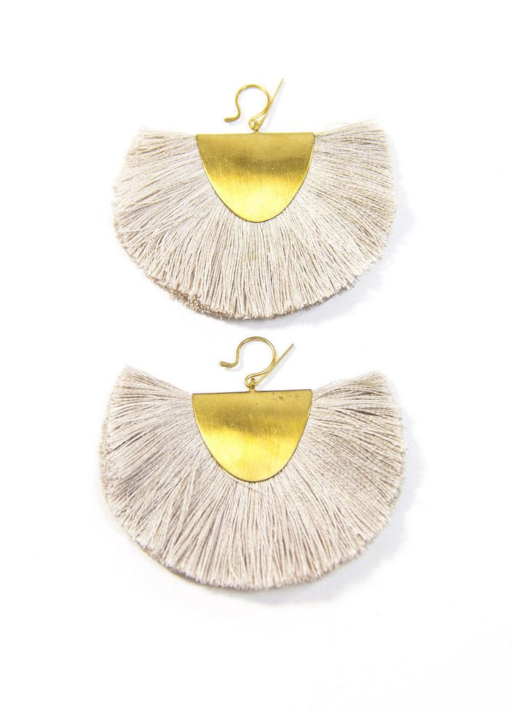Hazel Cox Little Rock Fan Earrings