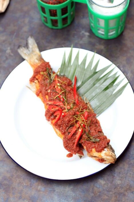 Spicy Thai fish.