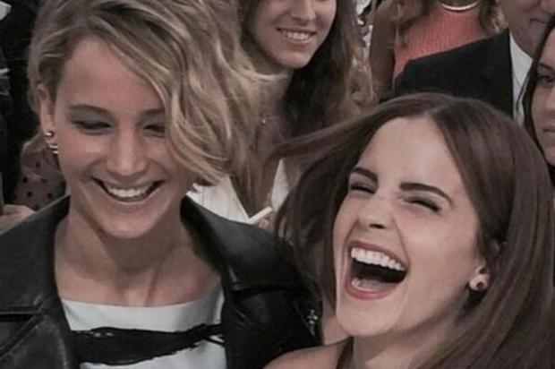 Jennfer Lawrence e Emma Watson