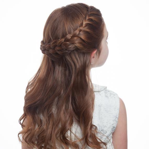 Flower Girl Hair How To Braid Crown Step 4 0515 Jpg Kids