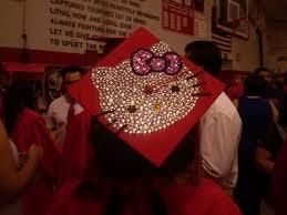 hello kitty decoration cap