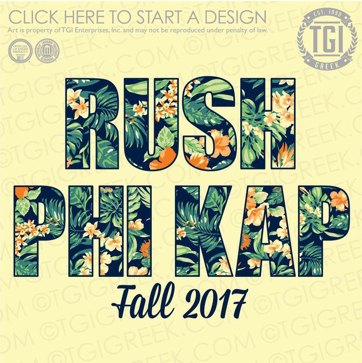 Phi Kappa Sigma | ΦKΣ | Fall Rush | Fraternity Rush | Rush Shirt | TGI Greek | Greek Apparel | Custom Apparel | Fraternity Tee Shirts | Fraternity T-shirts | Custom T-Shirts