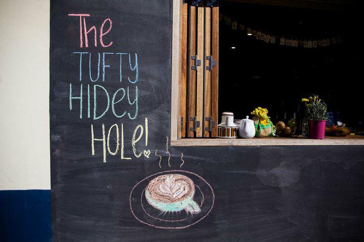 The Tufty Hidey Hole Cafe #Newcastle #NSW #Coffee