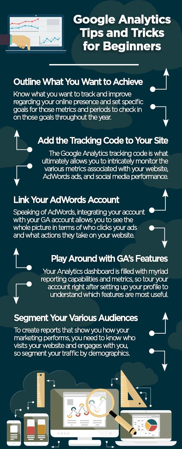 Google Analytics tips for beginners                                                                                                                                                                                 More