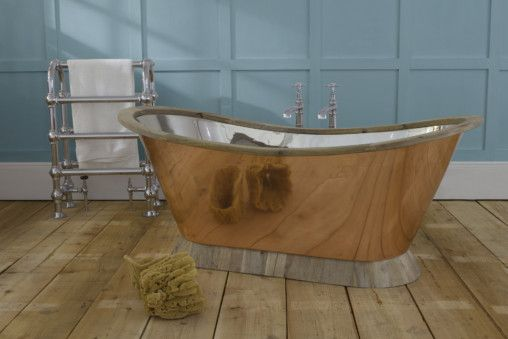 Gondola Copper Freestanding Bath
