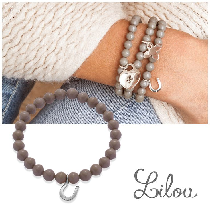 Many gifts ideas at less than £35, like the mini Horseshoe on crystal pearls by Lilou! #lilou #horseshoe #crystal #pearls #present #christmas #lessthan35