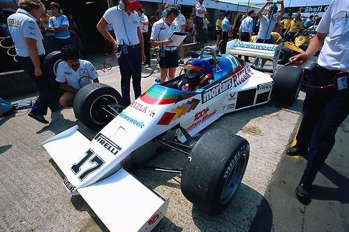 Kenny Acheson March RAM 01 - Cosworth 1983