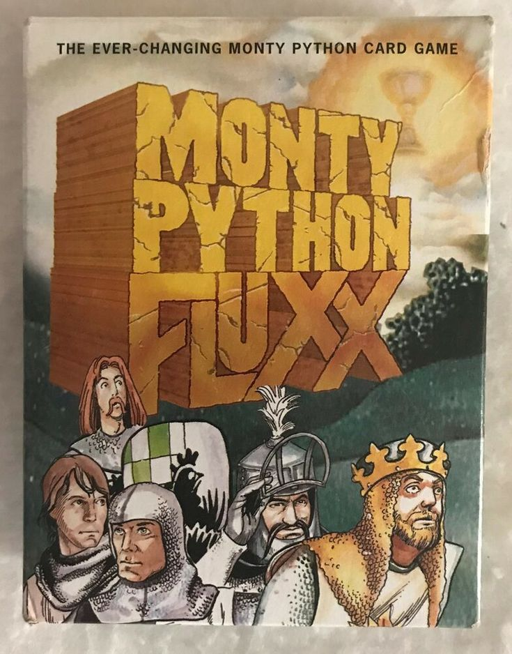 Holy Hand Grenades Just Listed The Fluxx Monty Python Card Game By Looney Labs Fluxx Card Game Card Games Monty Python