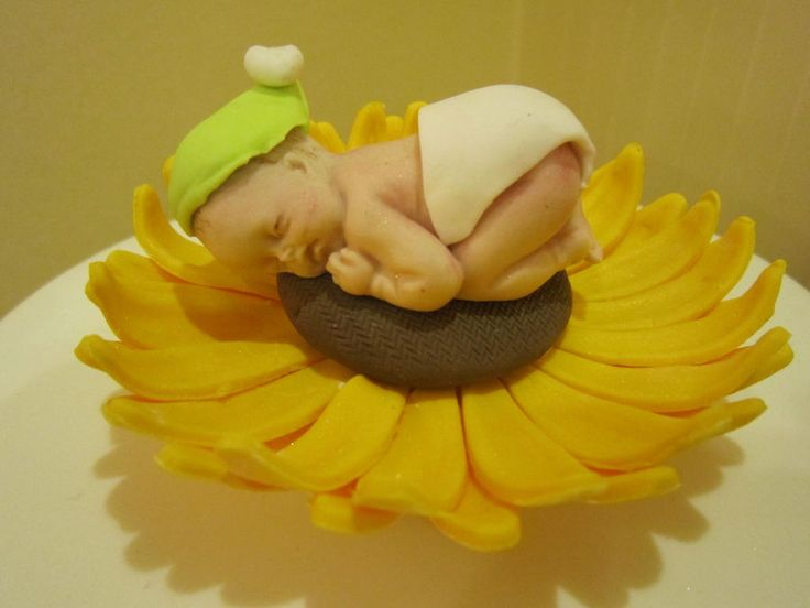 Sunflower Baby Shower Topper U2014