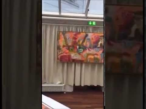 Hotel Royal Aarhus Pop-Exhibition - YouTube