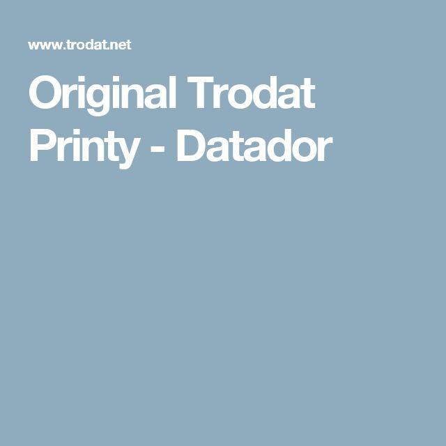 Original Trodat Printy - Datador