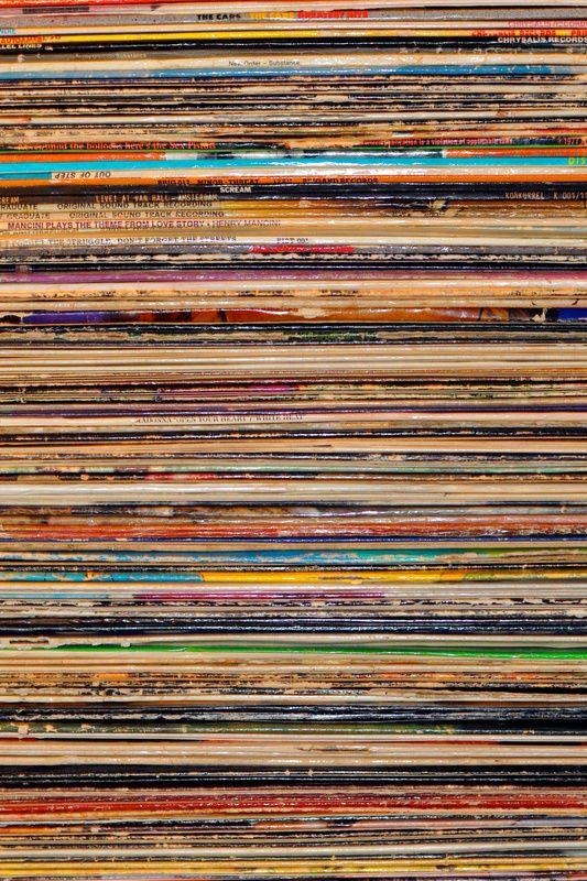 Vinyl  by Elle Moss via http://society6.com
