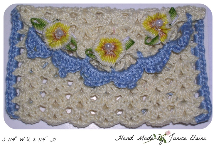 My sister makes these small purses nice for keepsakes,rosaries, babies first curl or lost tooth, gifts of money, Holy Communion Rosary and more Check them out at:   http://www.ebay.com/itm/CHOICE-OF-BEAUTIFUL-HAND-MADE-CROCHETED-MINIATURE-MERCERIZED-COTTON-PURSE-/330725175423?pt=LH_DefaultDomain_0=item4d00c1b07f