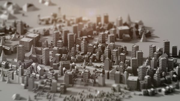 Paper City on Motion Graphics Served