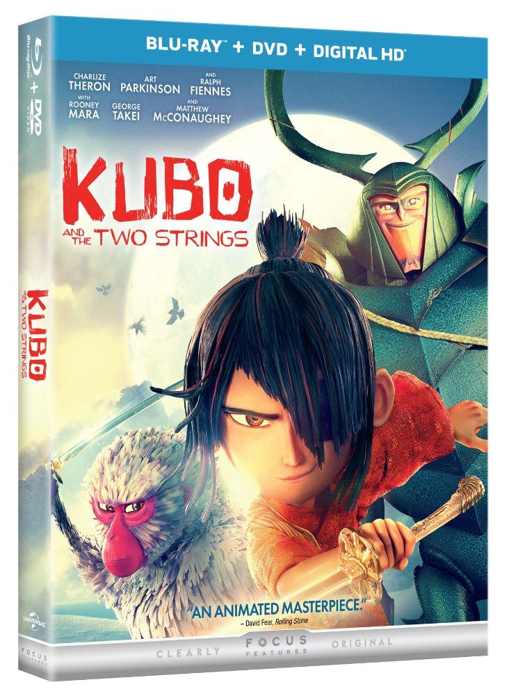 On Bluray this week and perfect for families to enjoy for the Thanksgiving holiday from director Travis Knight, Laika Entertainment and Focus Features is the stellar KUBO AND THE TWO STRINGS. http://moviemaven.homestead.com/index.html