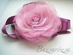 rózsaszín, Bazsarózsa, rózsa, kitűző