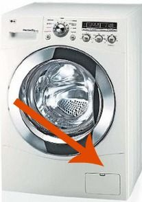 How to clean your front-loading washing machine. YIKES just did this tonight it is DISGUSTING! If you ever come into posession of one of these, remember it is a HUGE undertaking for cleaning. Most people recommend DEEP cleaning it once per month.