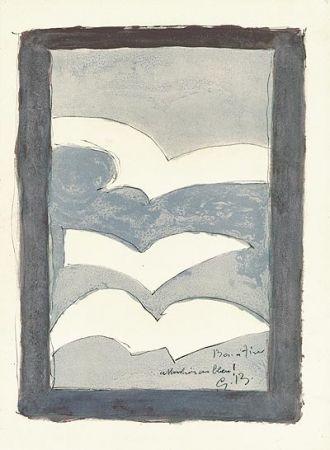 Résurrection de l'oiseau : Lithographie Georges Braque