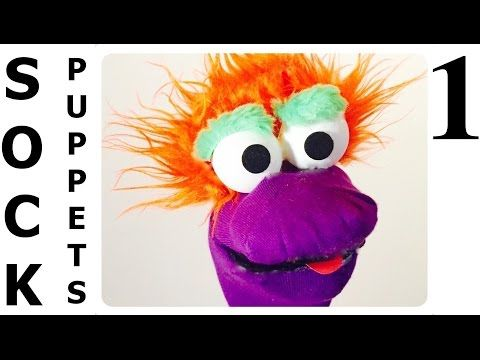 How to Make Sock Puppets -  View it and Do it Craft! #1 - YouTube