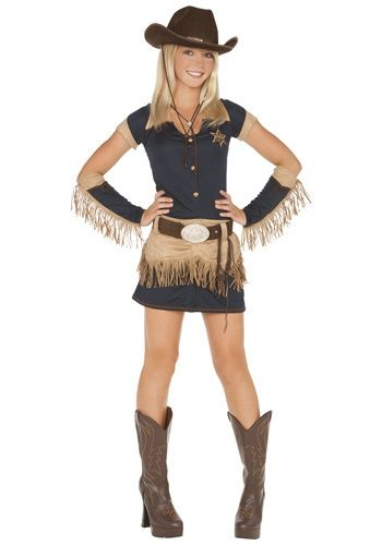 Teen Quickdraw Cutie Cowgirl Costume