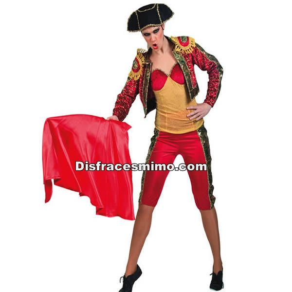 DisfracesMimo, disfraz torera mujer adulto.Este divertido disfraz de Torera Sexy para mujer no pasarás desapercibido en Fiestas Temáticas, de Disfraces, Carnavales o en Celebraciones como las Despedidas de Soltero.