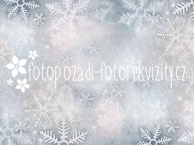 Vinylové fotopozadí vánoční (1)
