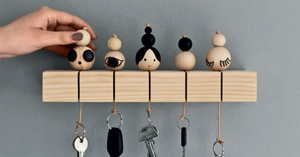Keys, Key holders and DIY and crafts on Pinterest