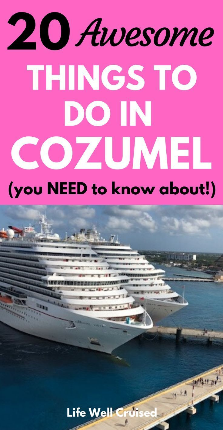 21 Most Recommended Things To Do In Cozumel In 2020 With Images
