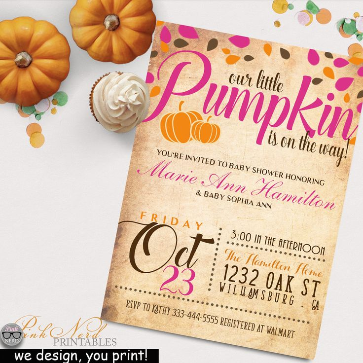 77 best Fall and Autumn Invitations, Birthday\'s Wedding ect! images ...