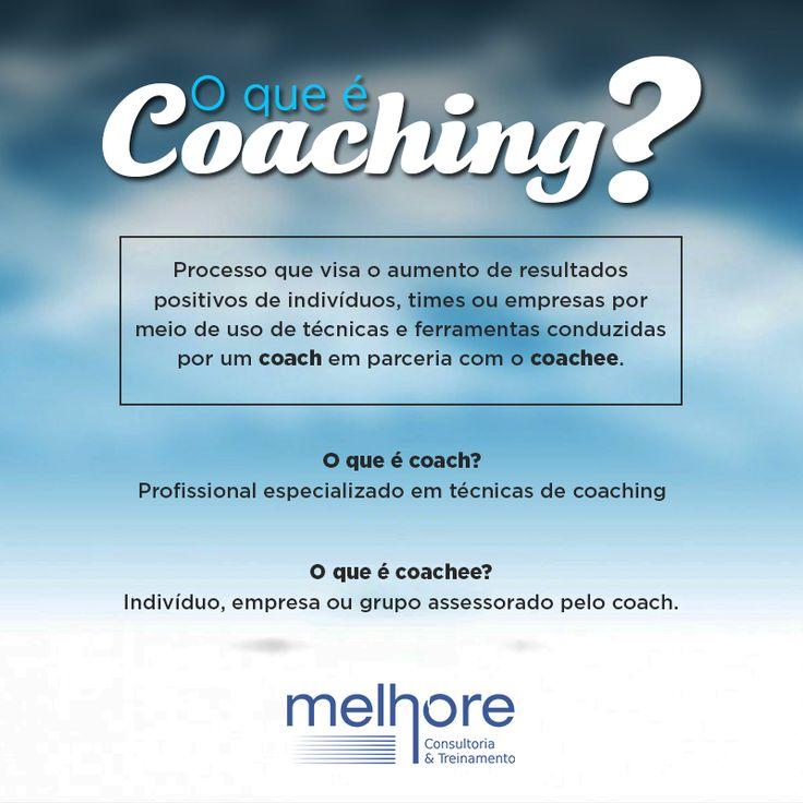 Você sabe o que significa coaching, coach e coachee? Agora você não vai ter mais dúvidas! Mas se tiver, fala com a gente! #melhore #marketing #escritorio #coach #coaching