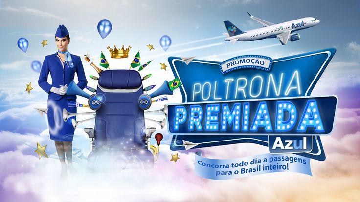 Promotion - Poltrona Premiada Azul (winning seat Azul) on Behance