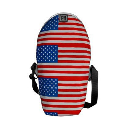 #United states national flag messenger bag - cyo customize do it yourself diy