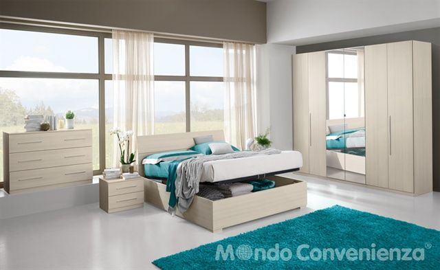 Eleonora camere da letto camere complete mondo - Mondo convenienza stanze da letto ...