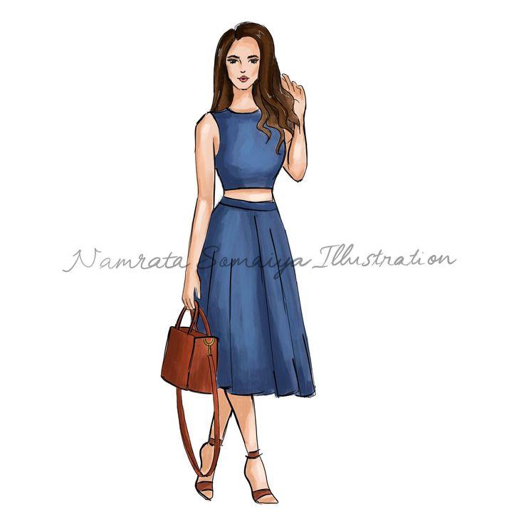 Excited to share the latest addition to my #etsy shop: Denim on denim. (Fashion Illustration art print) http://etsy.me/2zKGdza #art #drawing #collectibles #prints #artprint #illustration #fashionillustration #fashiongirl #digitalart