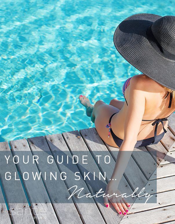 5 steps to glowing skin - naturally!