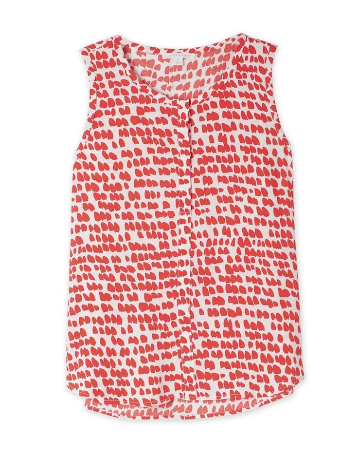 Print Sleeveless Top from Trenery