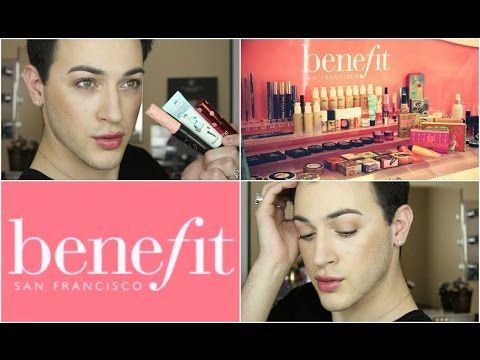 One Brand Tutorial: Benefit Cosmetics! | MannyMua - YouTube