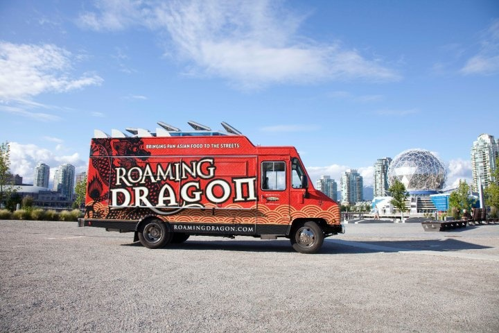 Roaming Dragon has become a familiar sight on the streets of Vancouver. #EatStBook