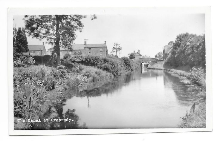 The Canal At Cropredy Banbury, Oxfordshire. RP Postcard | eBay