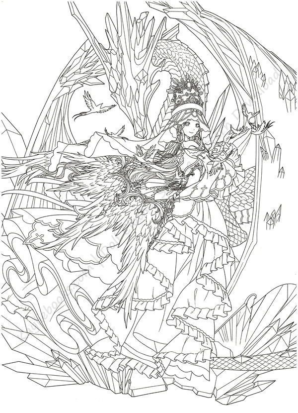 Download Magical Time Traveler Coloring Book Pdf Coloring Books Cute Coloring Pages Color Pencil Art