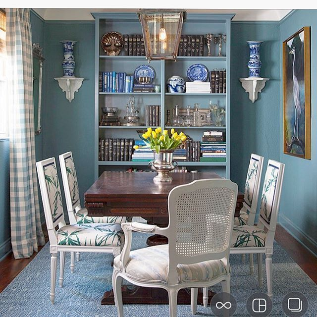 Beautiful Dining Room Decor Includes The Custom Painted And Upholstered Bienville Chair From AVE Raw